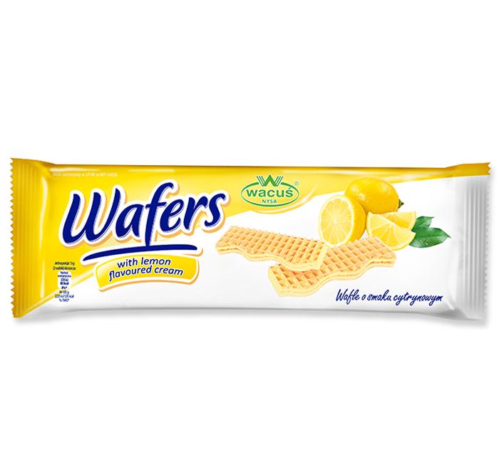 Wafle o smaku cytrynowym 180g